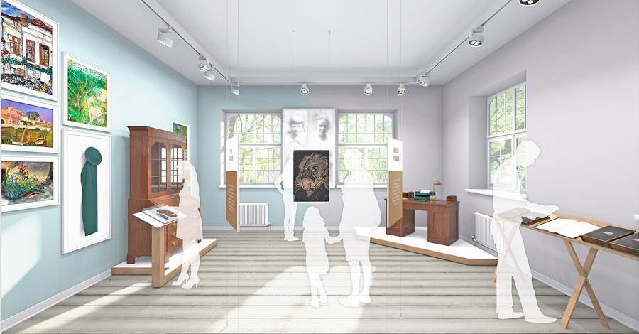 pankok museum haus esselt sanierung haus esselt. Black Bedroom Furniture Sets. Home Design Ideas